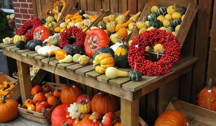 Осенний декор дома