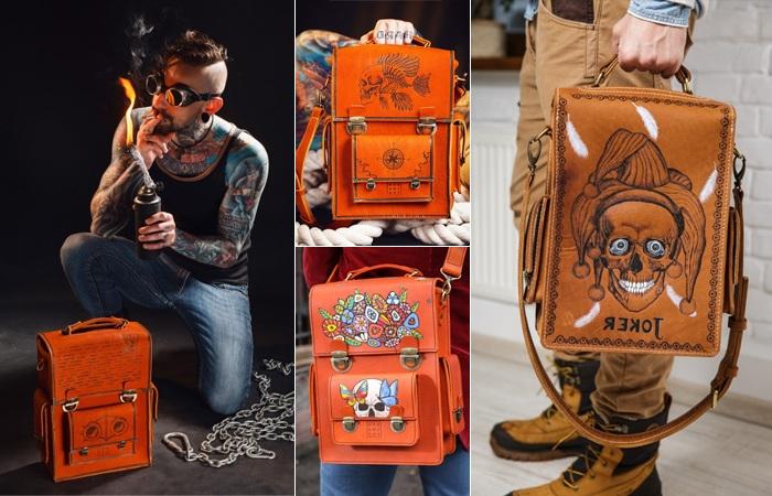 Мужские кожаные сумки 2017