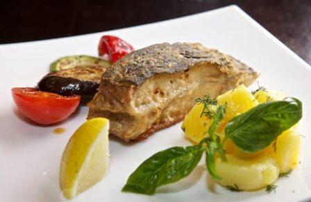 Рыба в луковом кляре