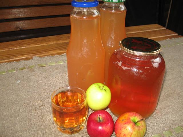 як приготувати домашній яблучний сік