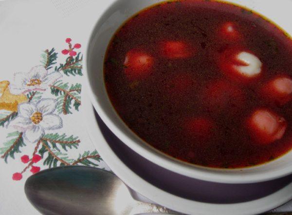Як приготувати пісний різдвяний борщ
