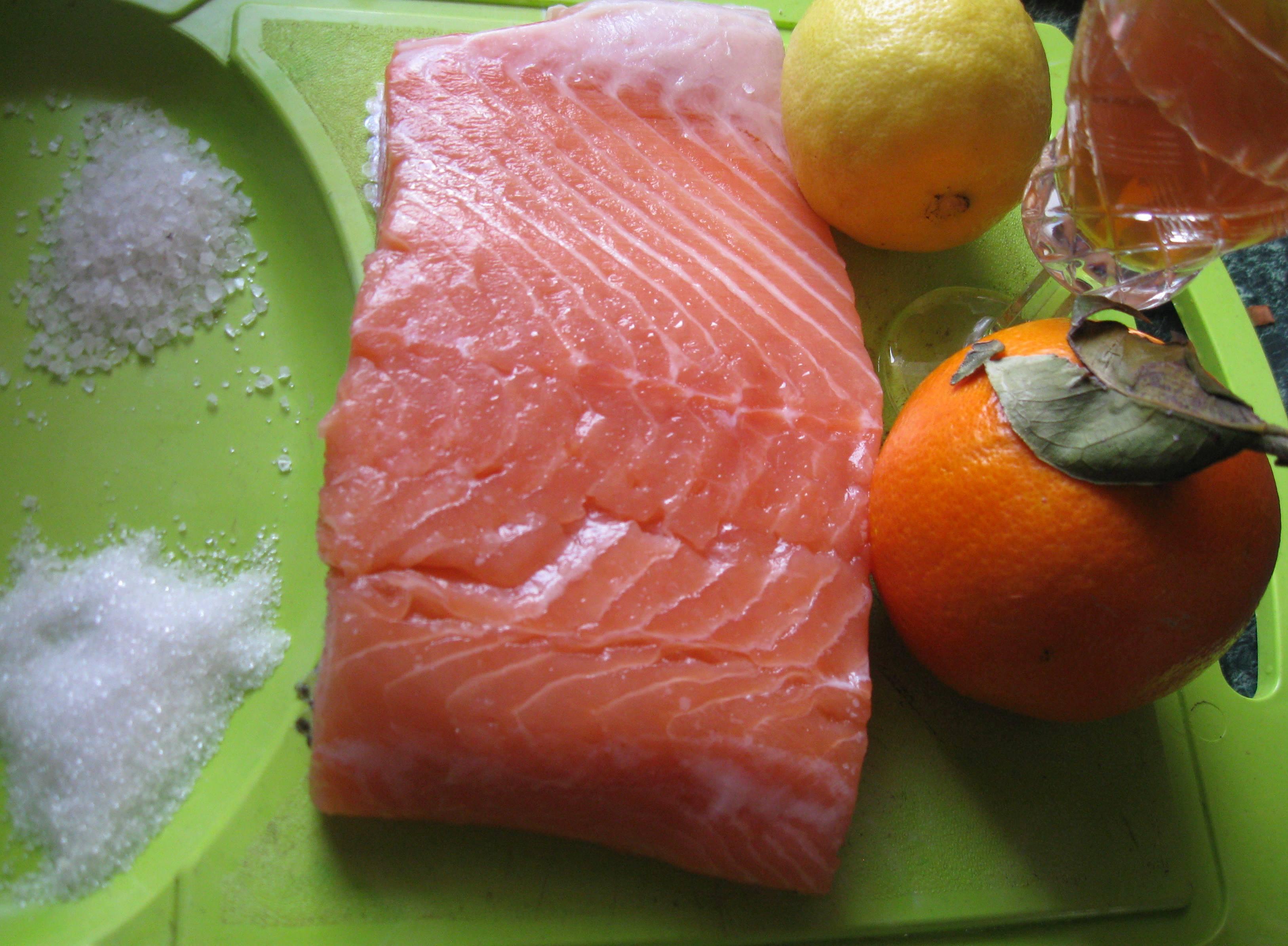 Як засолити фыле лосося