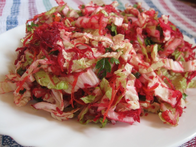 Зимовий вітамінний салат