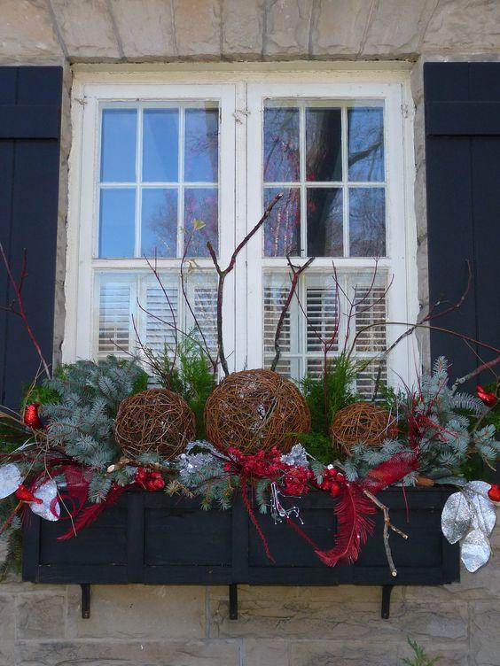 різдвяна декорація садиби