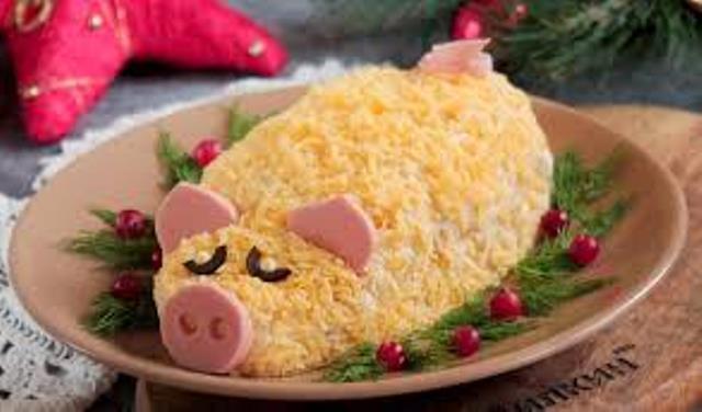 Ідеї декорування новорічних страв