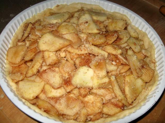 Яблучний пляцок
