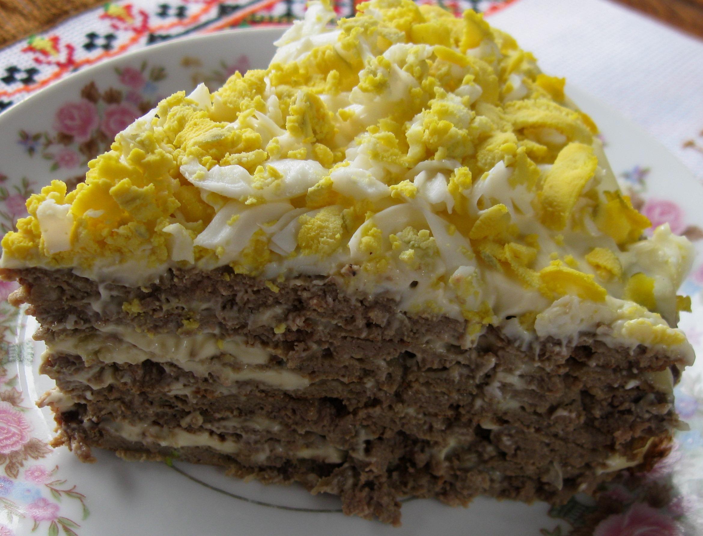 печінковий торт