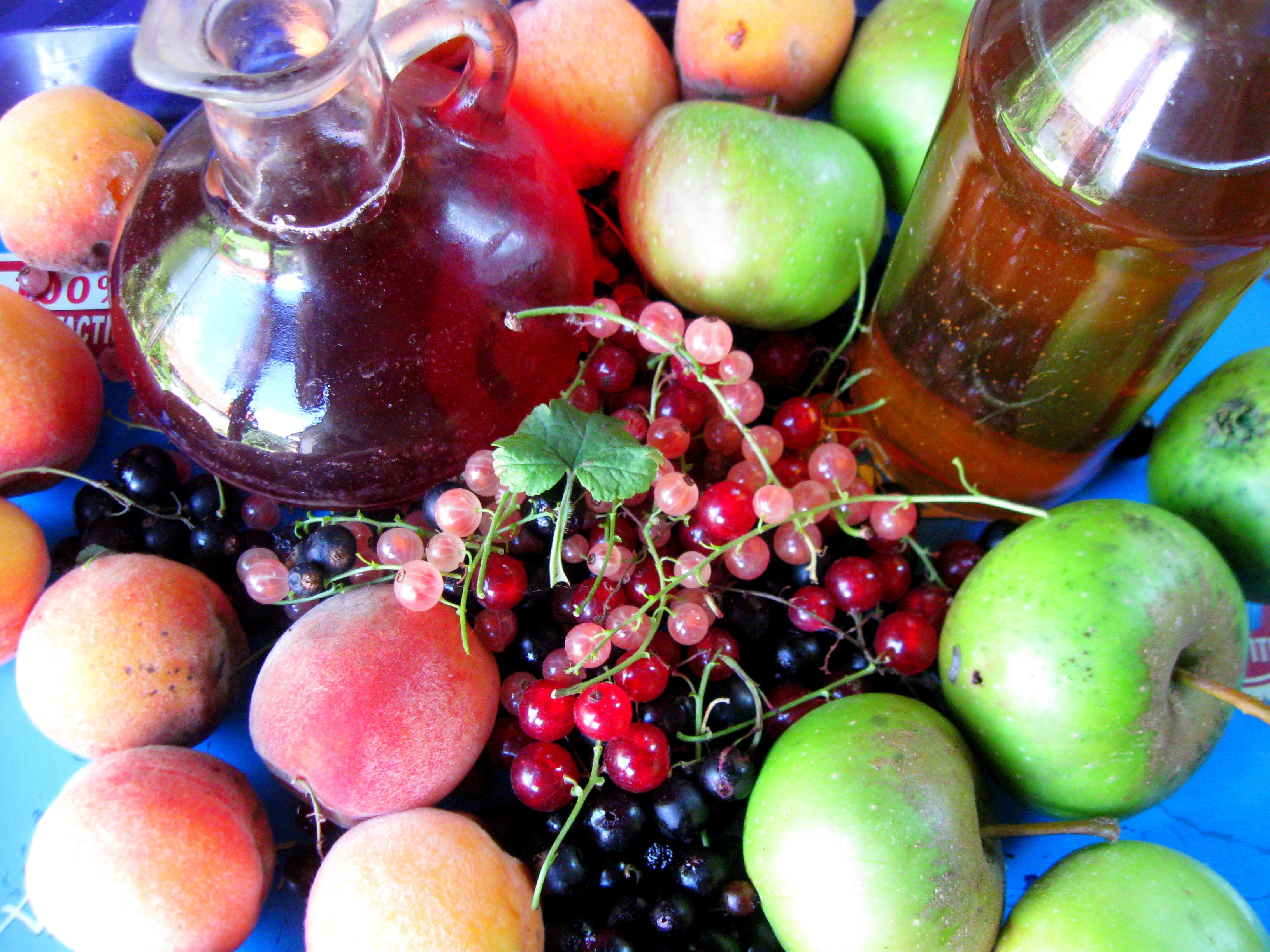 фруктовий оцет власноруч
