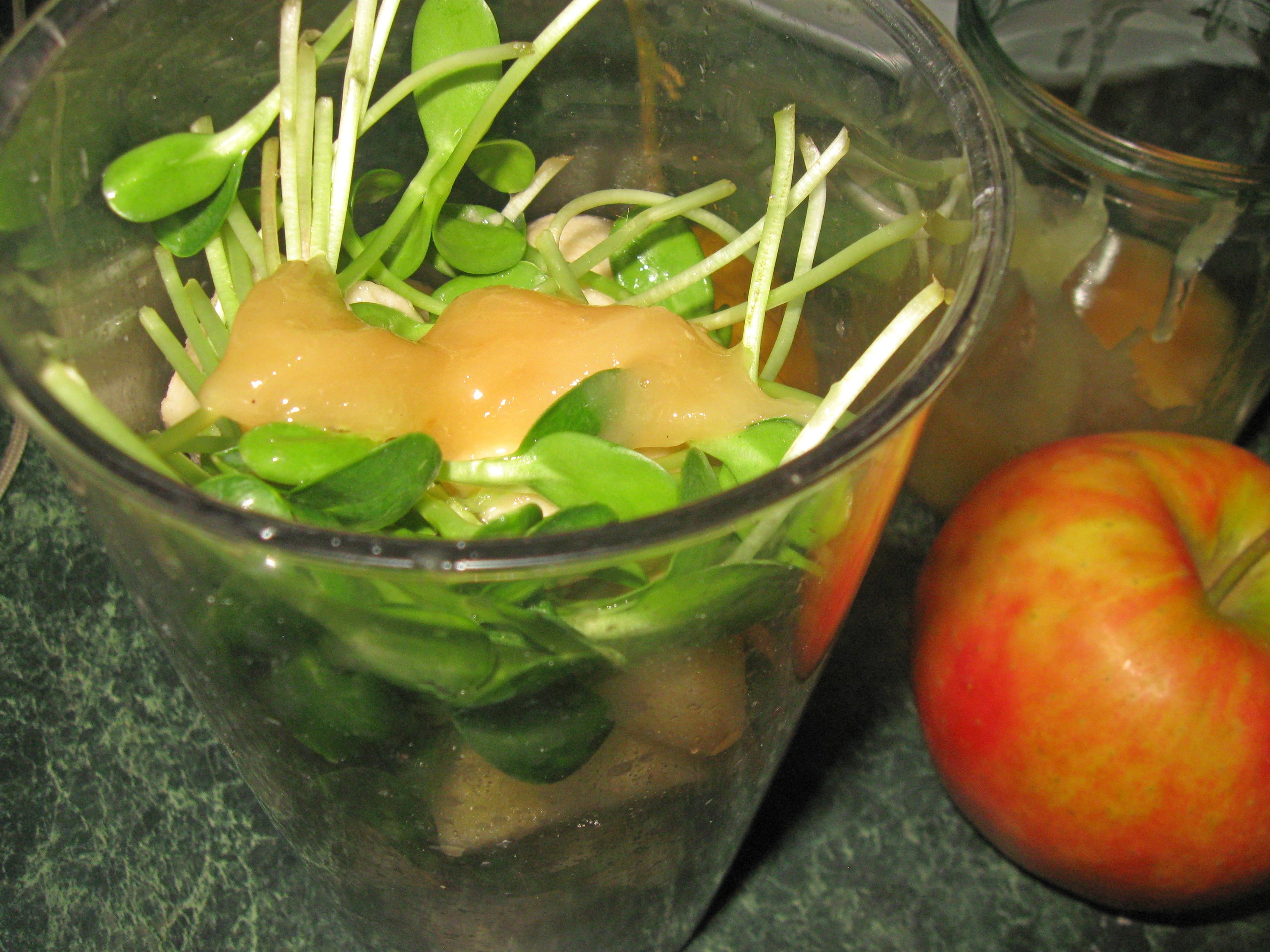 смузі з мікрозеленню